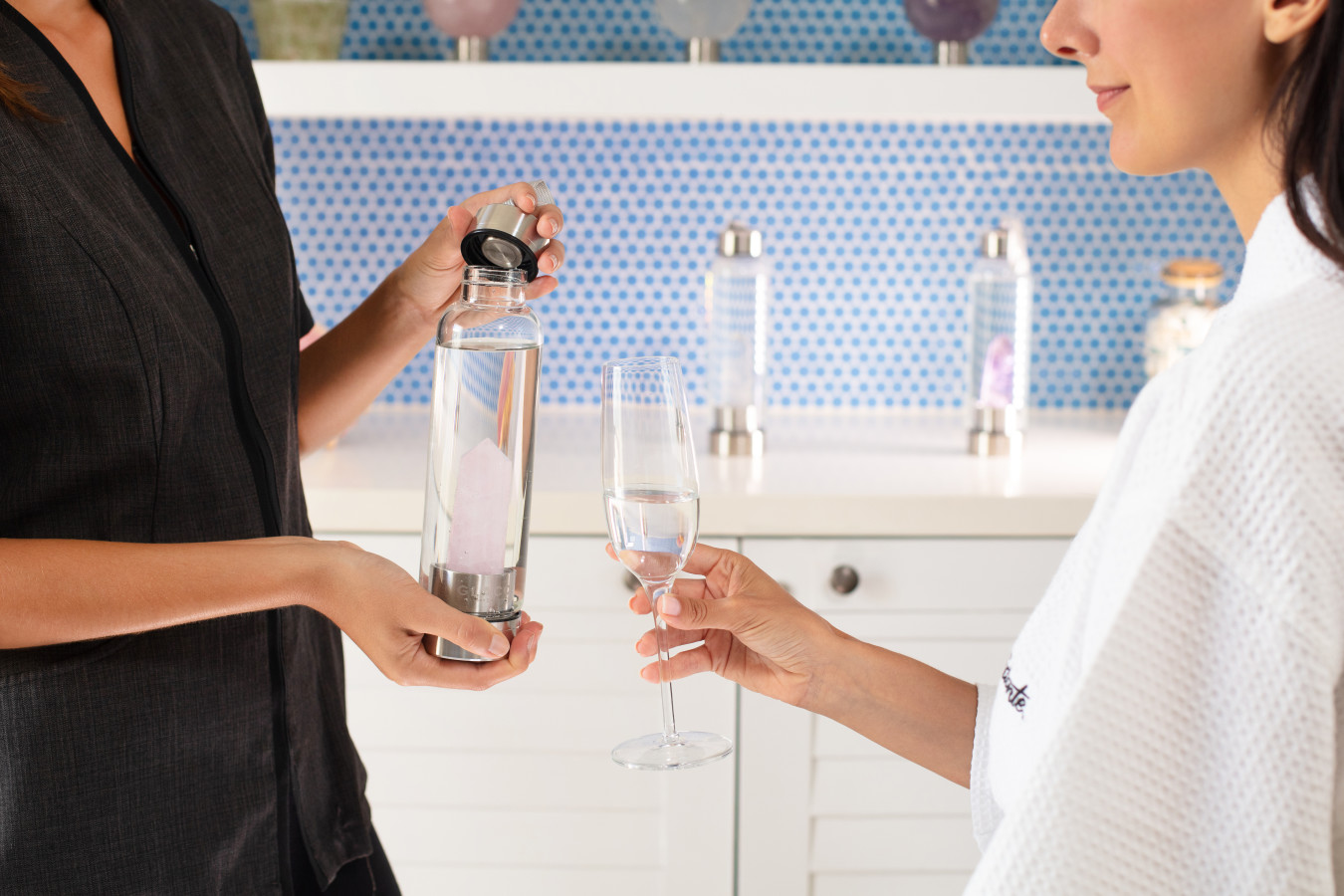 Bulgarian Rose Water Ritual from our Customized Crystal Massage Journey