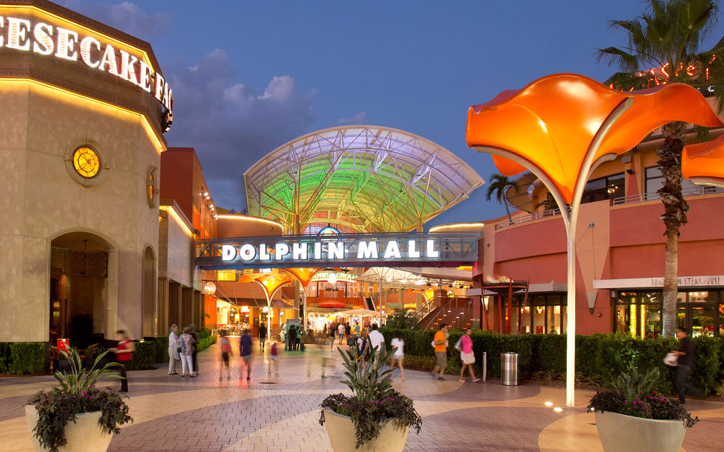 Dolphin Mall in Airport Area, FL on