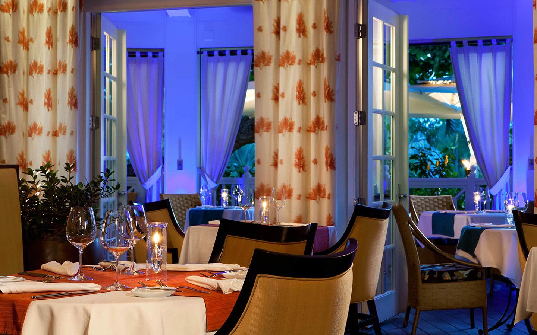 Indoor Dining at Essensia Restaurant