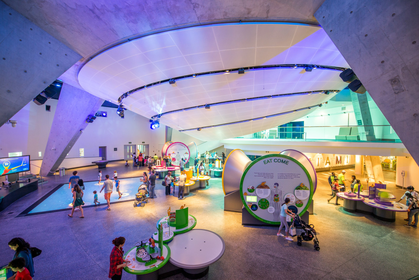 New Science Museum Miami >> Phillip And Patricia Frost Museum Of Science In Downtown Miami Area