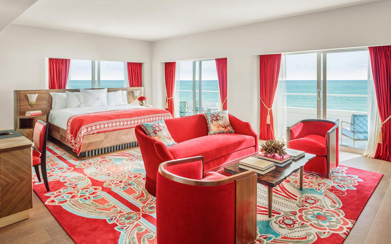 Faena Hotel Miami Beach habitación de huéspedes