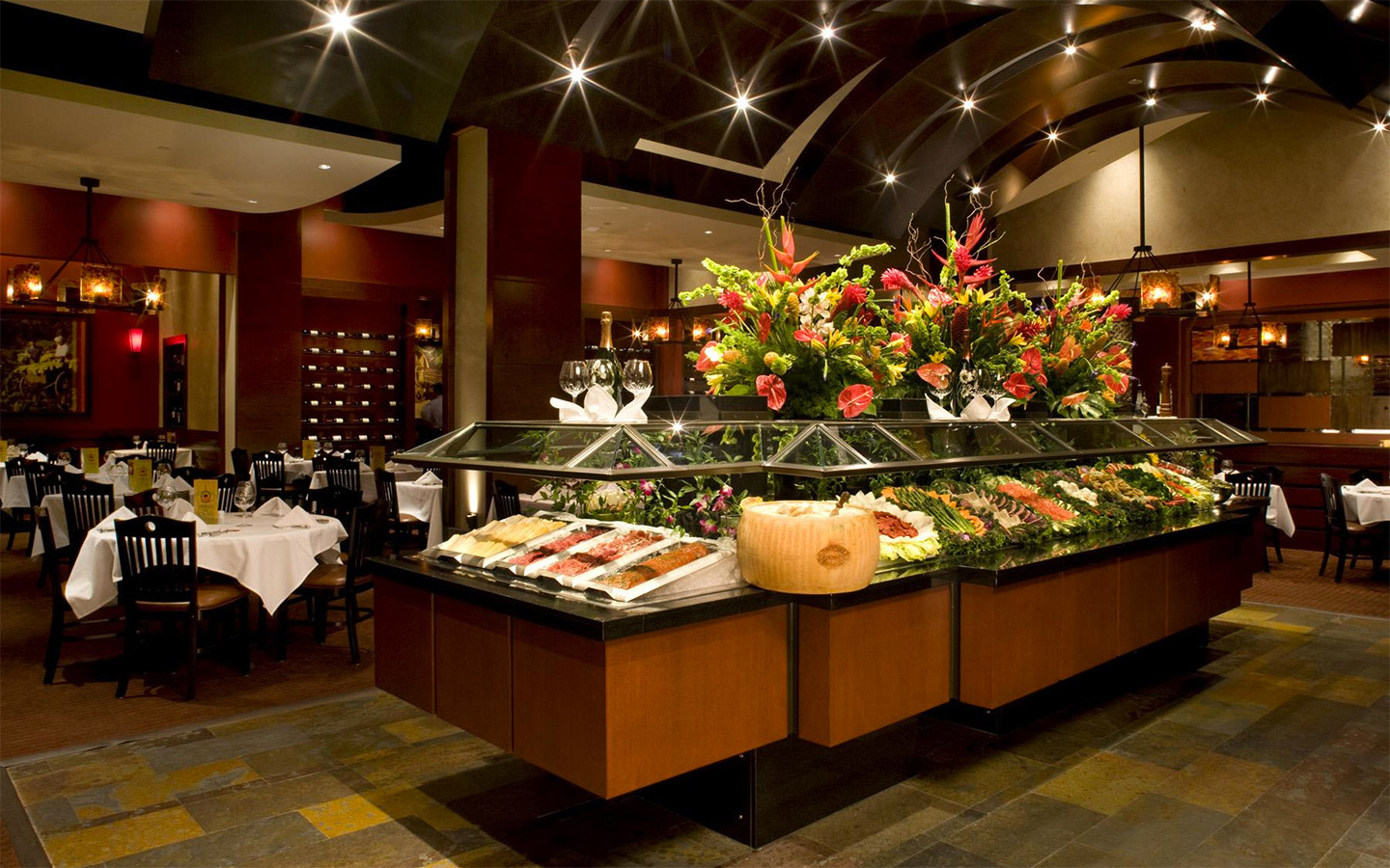 Fogo de Chao Salad Bar with 40+ items