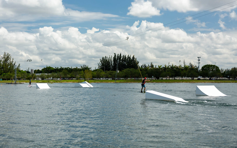 Amelia Earhart Park Watersports Complex ramps