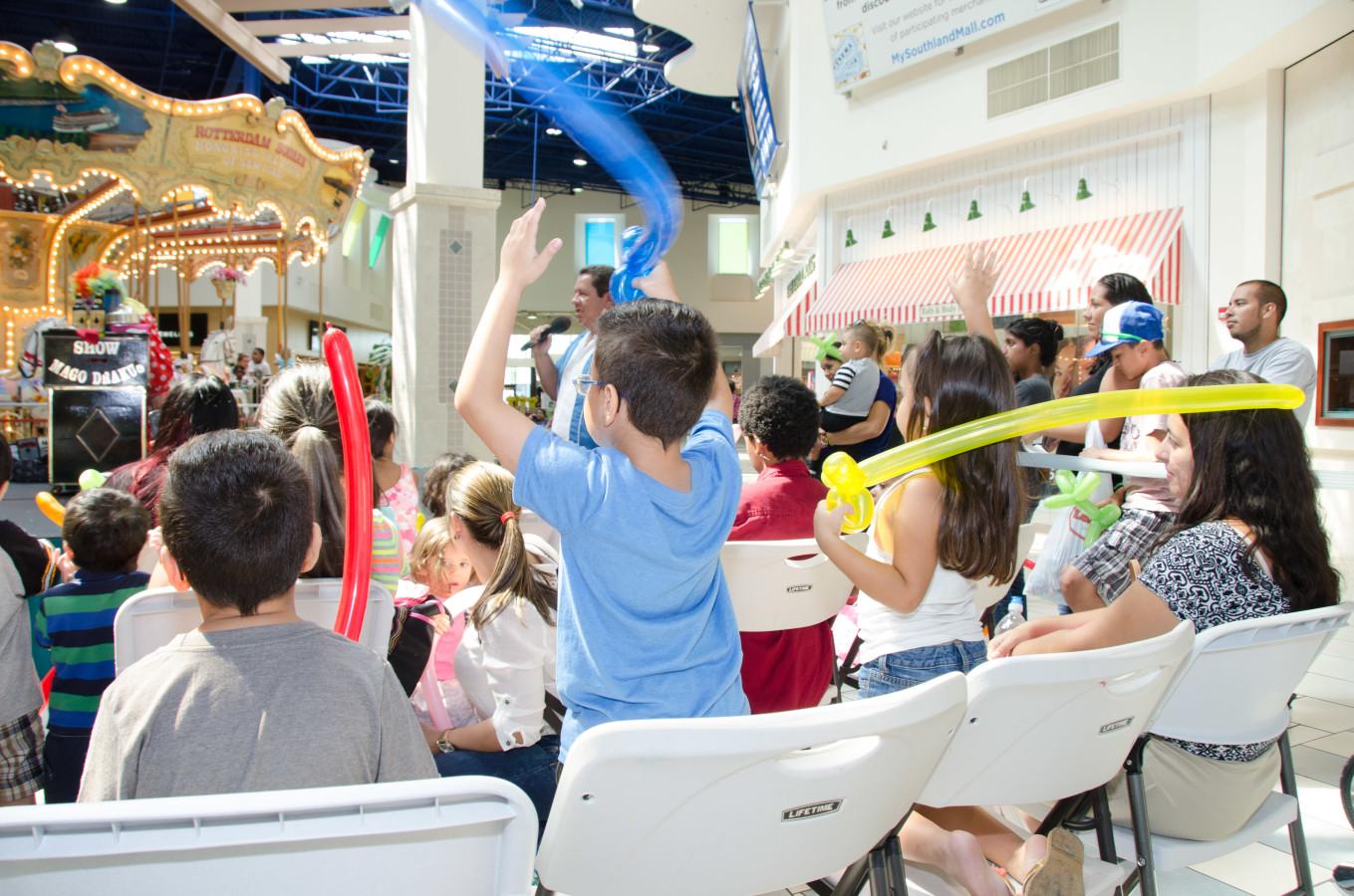 Kids Week festivities at Southland Mall