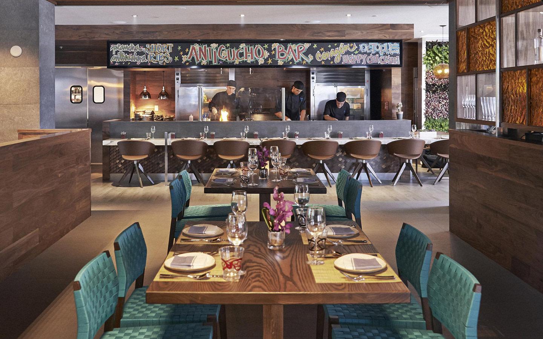 Dining room at La Mar by Gaston Acurio
