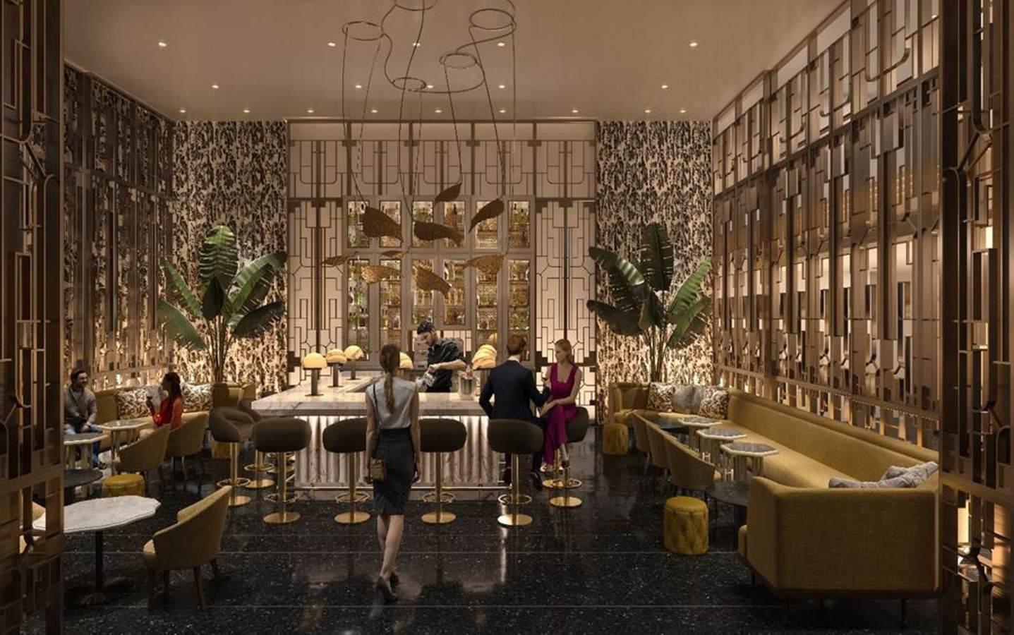 Lobby Bar Rendering