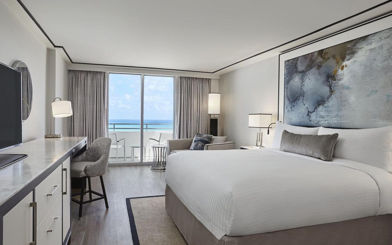 Chambres avec balcon face à la mer
