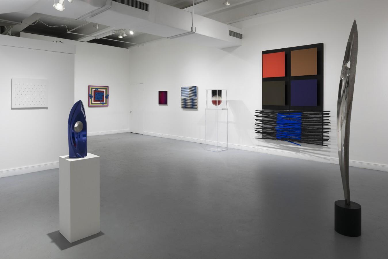 Exhibition view. MASTERpieces, Ascaso gallery, Miami, 2017