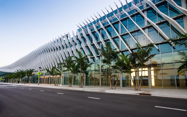 Miami Beach Convention Center angle
