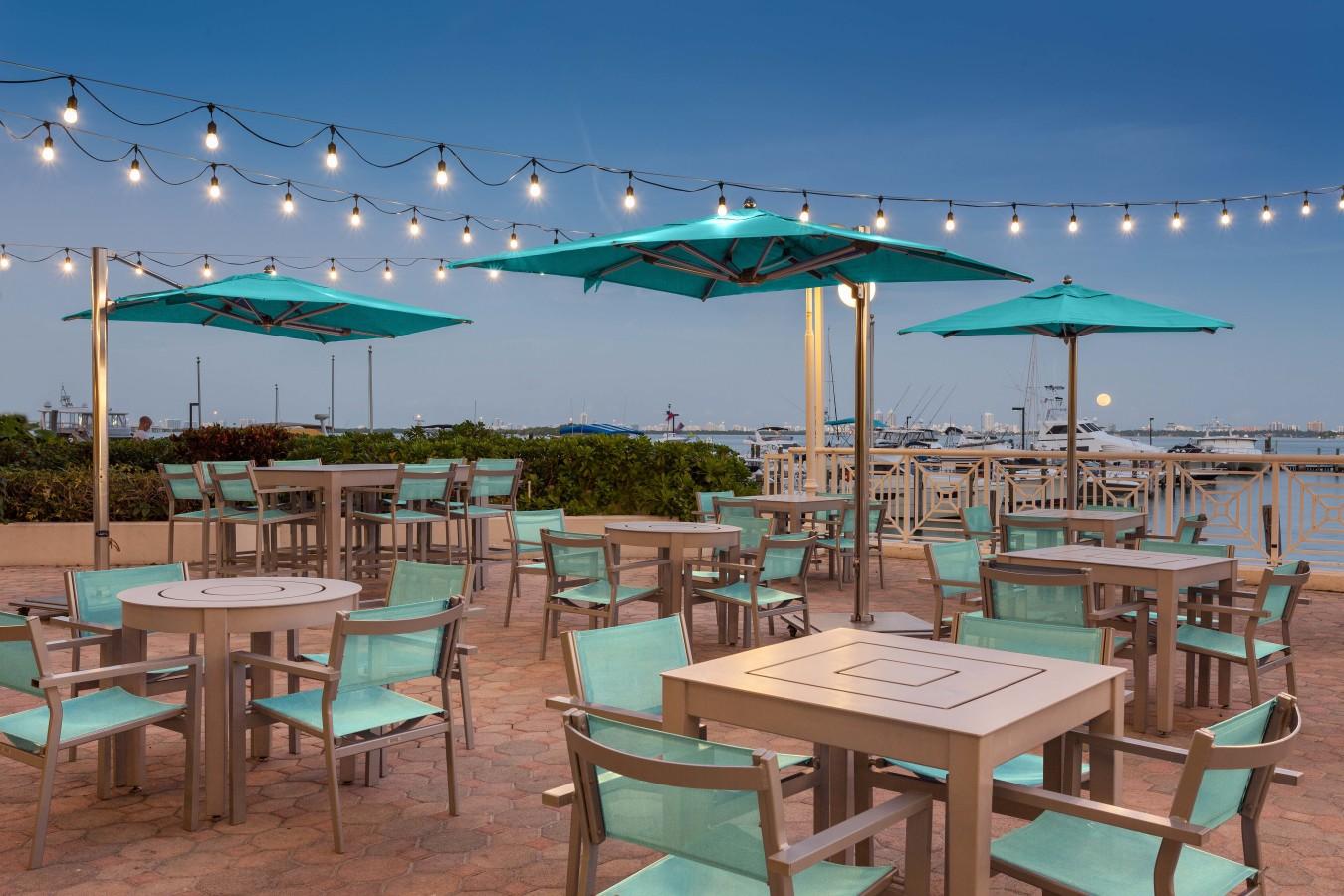 Catch Restaurant - Outdoor Seating