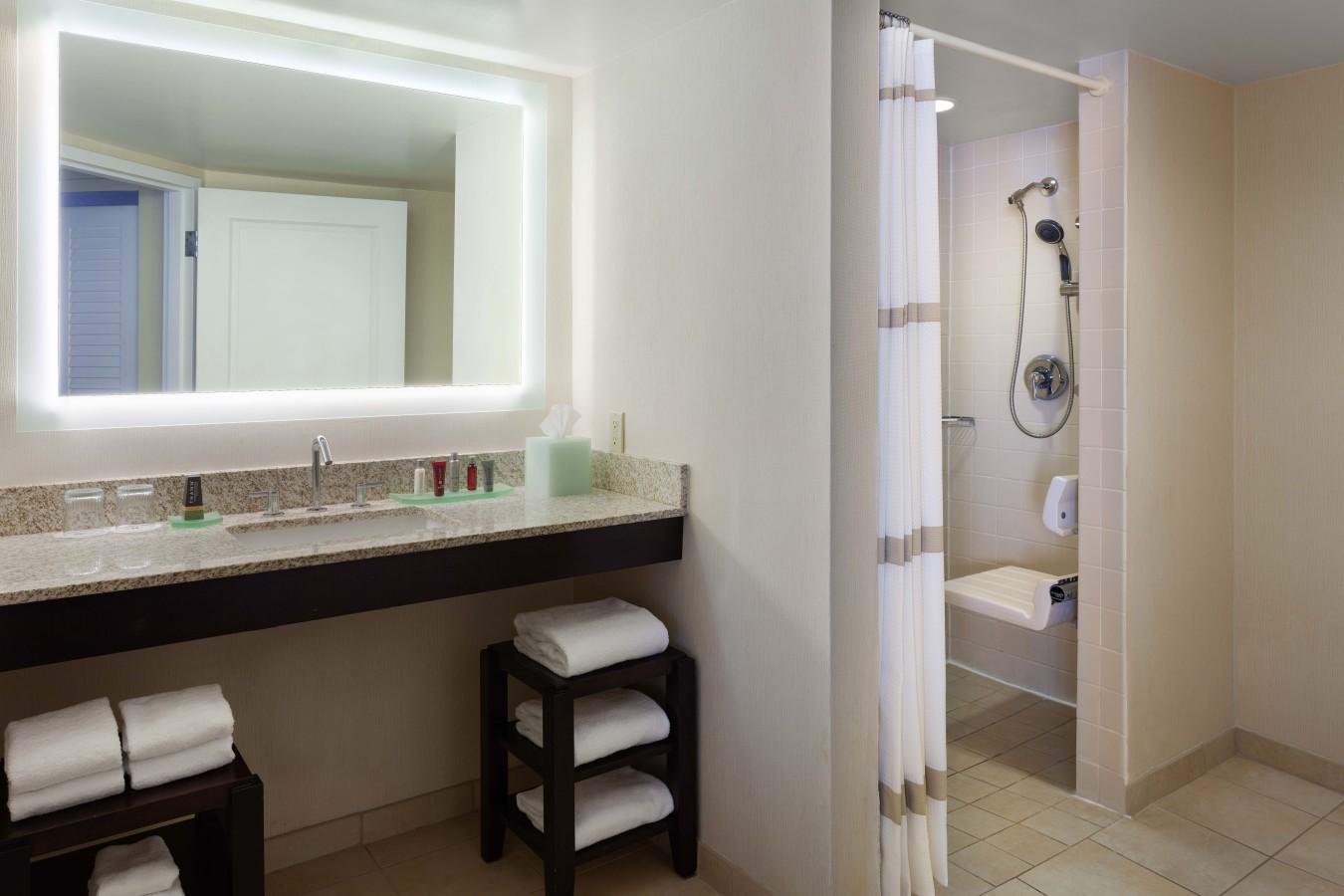 Handicap Shower Restroom