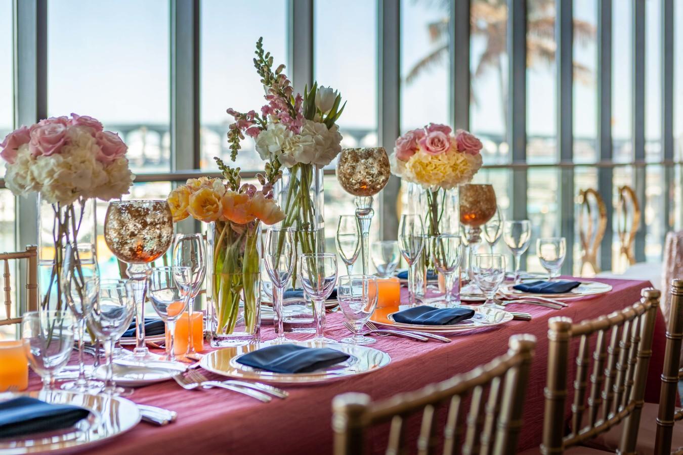 Weddings - Banquet Detail Shot