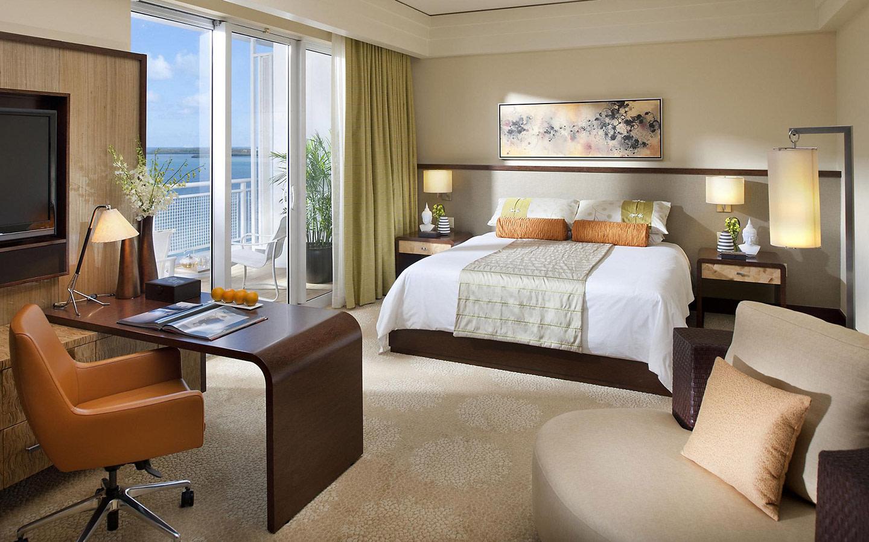 Mandarin Oriental, Miami habitación de huéspedes