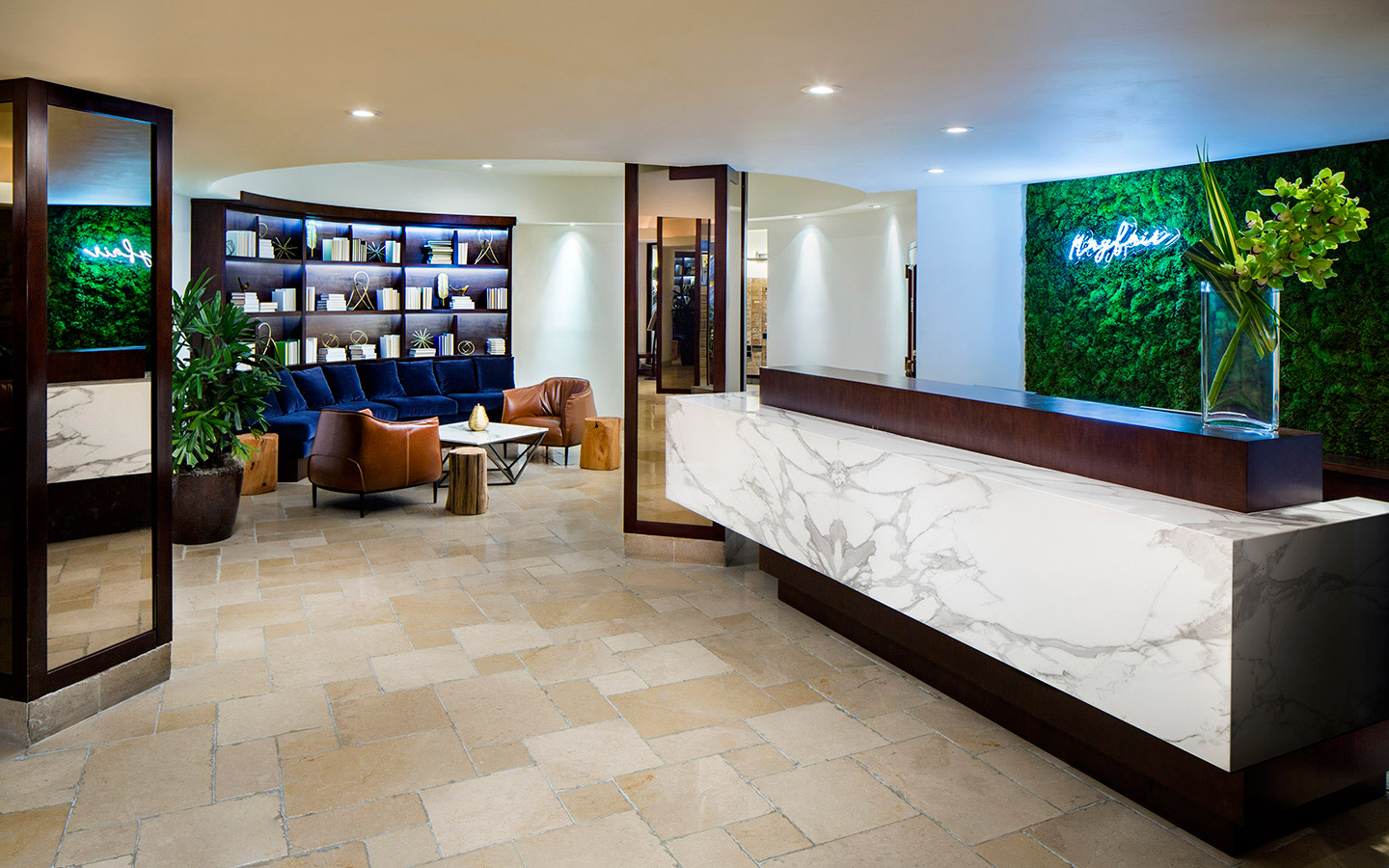 Mayfair Hotel & Spa Lobby