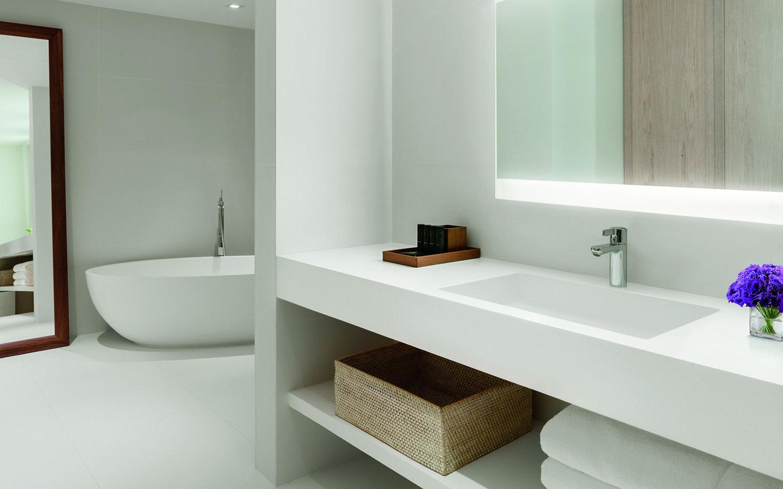 Bungalow Penthouse Badezimmer