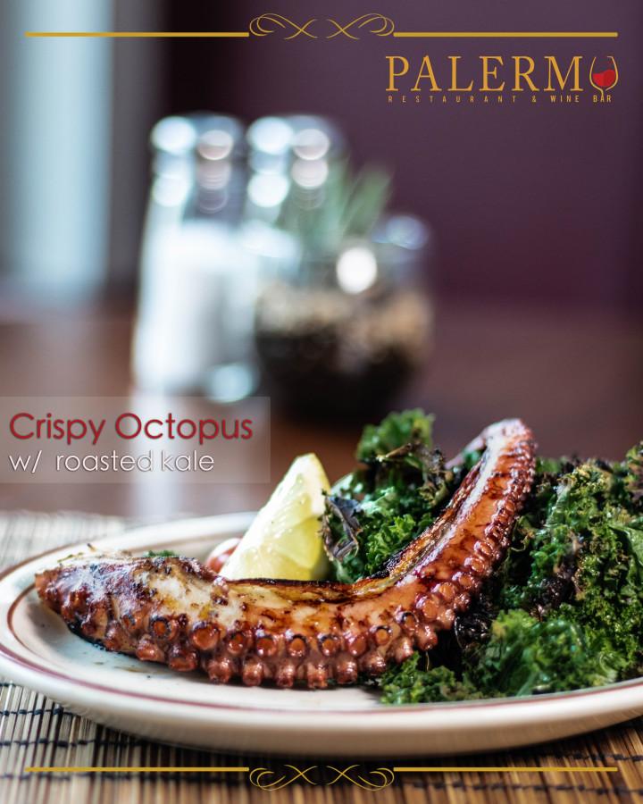 Octopus gourmet