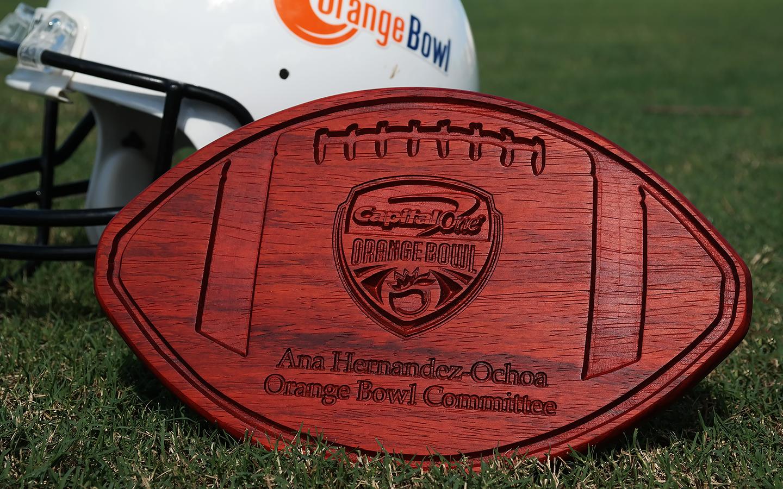 2017 Orange Bowl Display