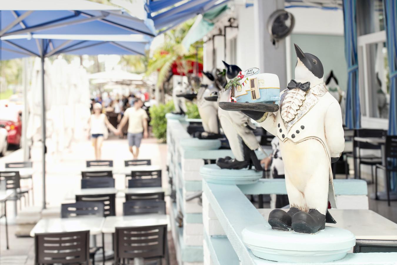 Penguin Hotel Front Porch