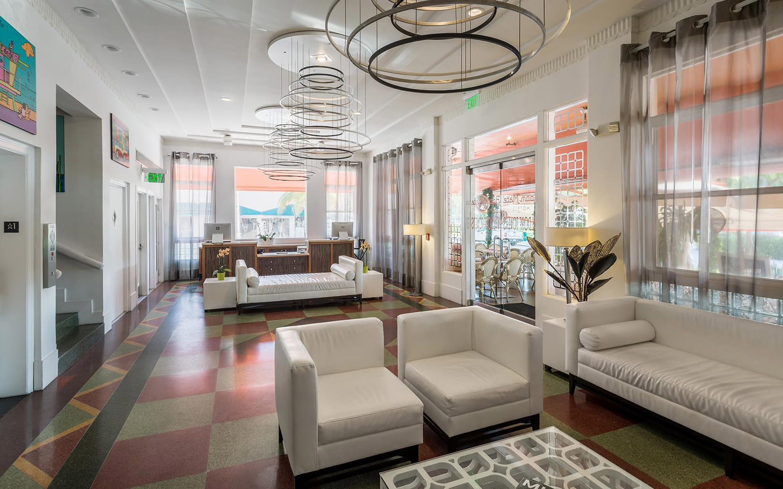 Waldorf Towers lobby