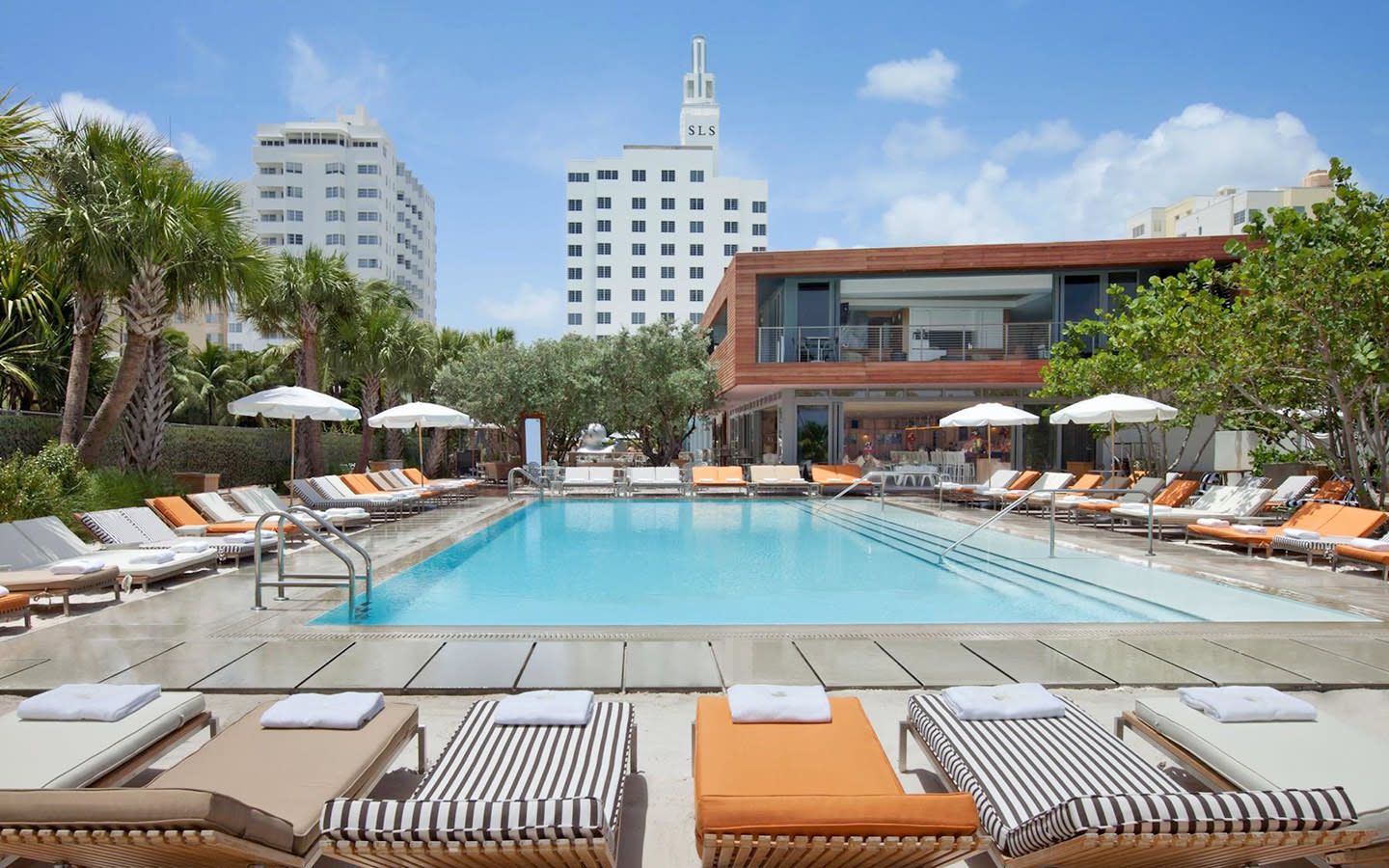 SLS South Beach Schwimmbad