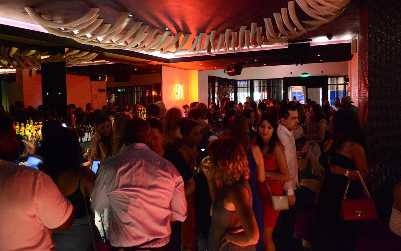 STK Miami Beach crowd
