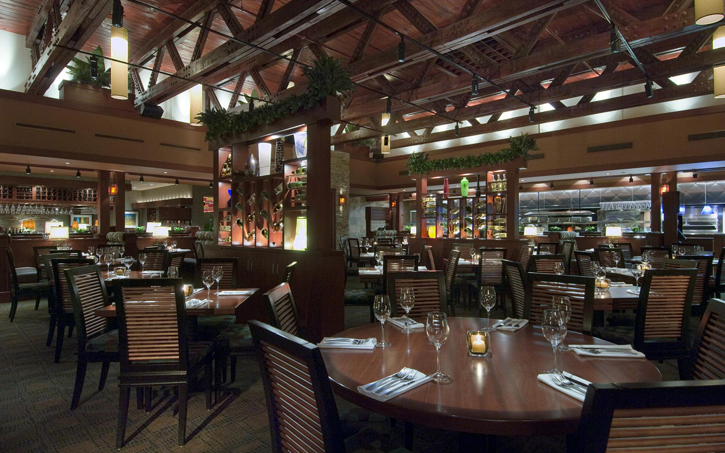 Seasons 52 Main Dining Room