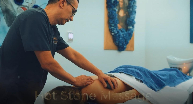 Sparis massage room
