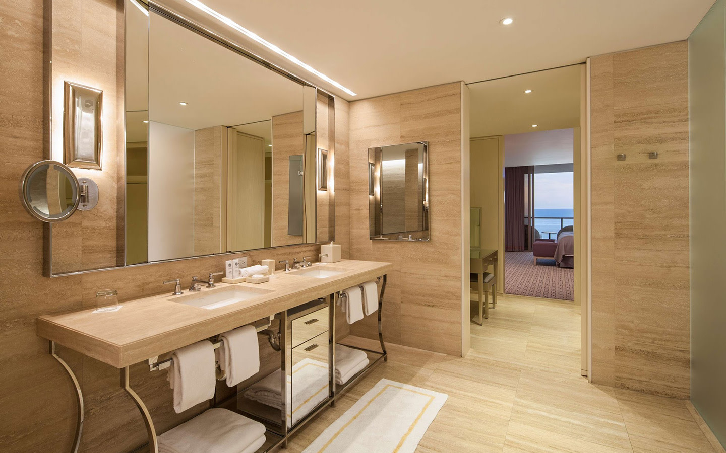 St. Regis Bal Harbour Resort Guest Room Bath