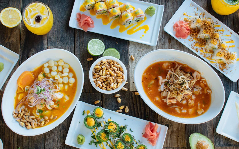 Suviche dishes