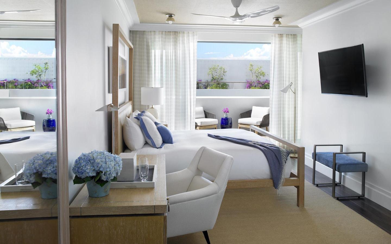 Deluxe Zimmer mit Balkon und Meerblick