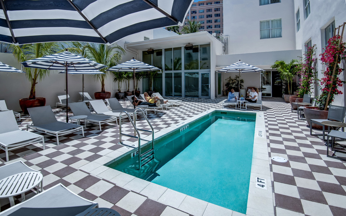 The clinton hotel south beach - Cheap 2 bedroom suites in miami beach ...