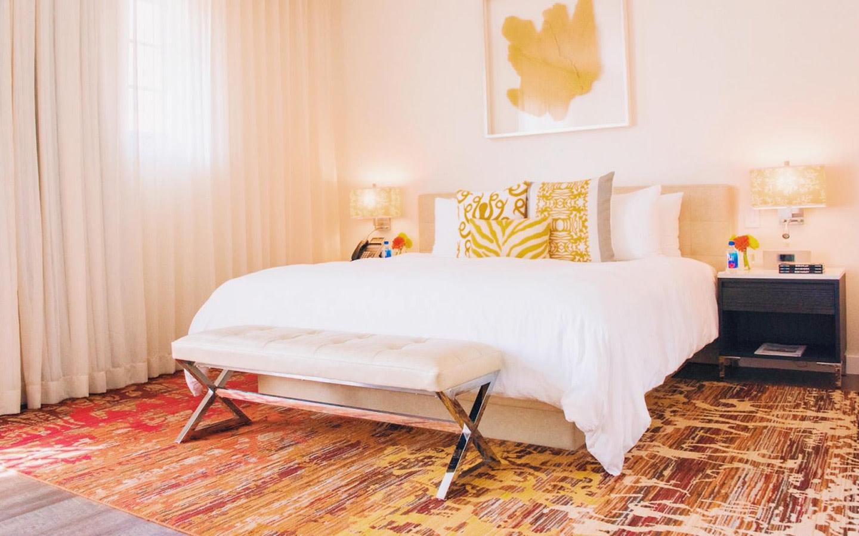 The Marlin Hotel room