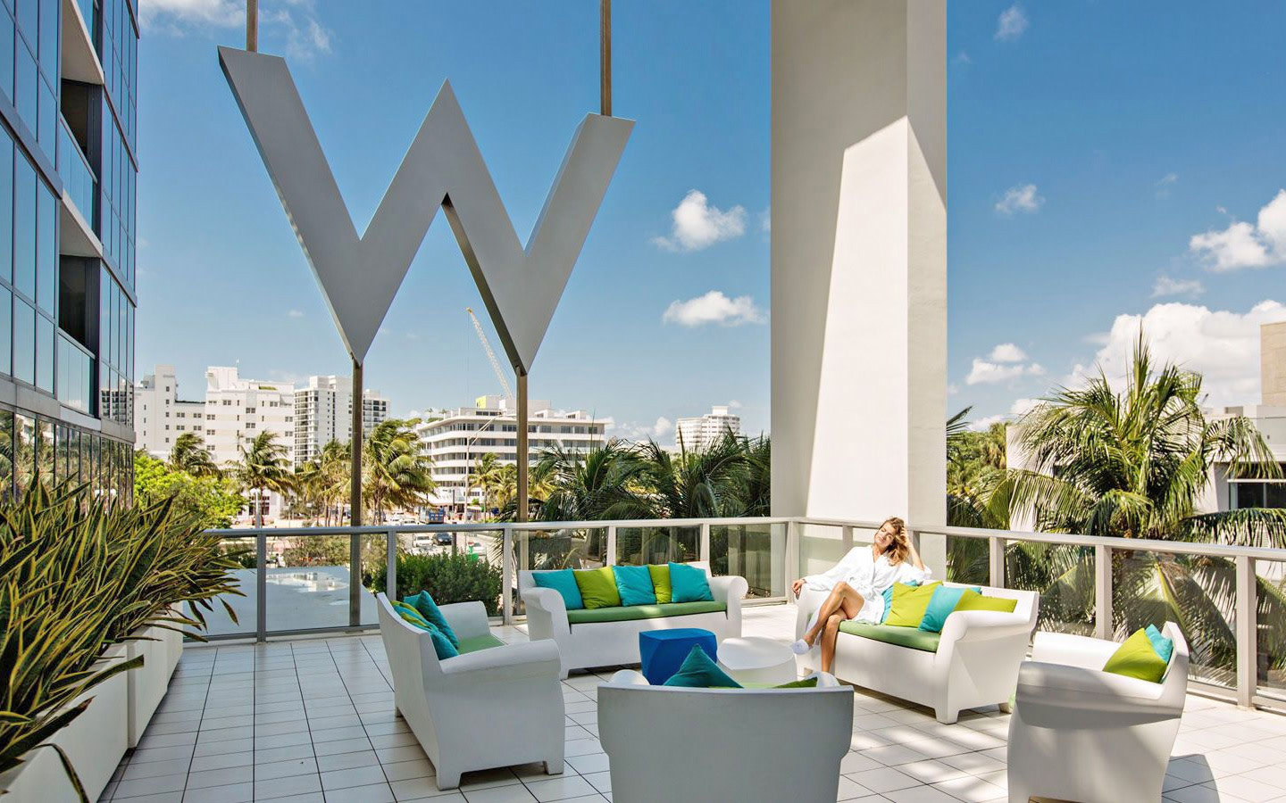 W South Beach spa