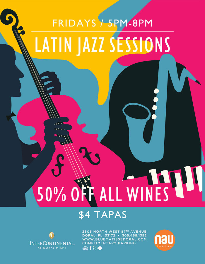 Friday Happy Hour Latin Jazz Sessions