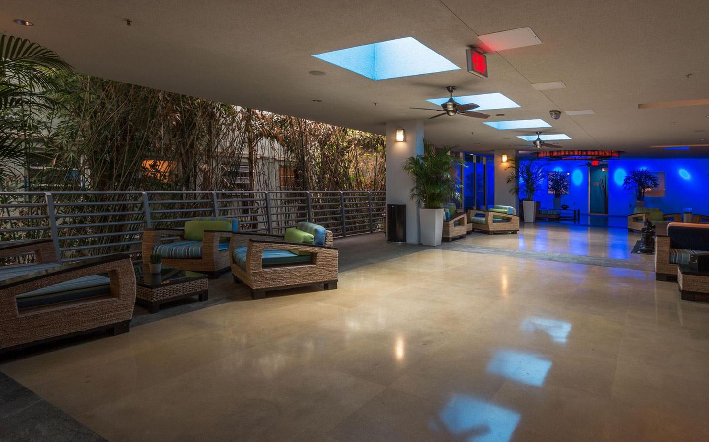 Z Ocean Hotel breezeway