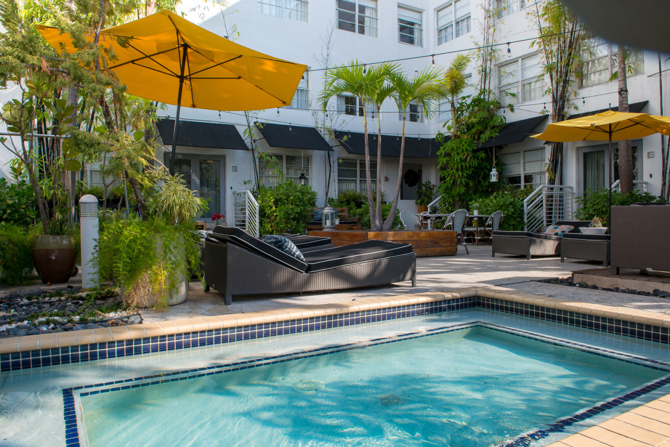 Splash Pool at the Metropol South Beach