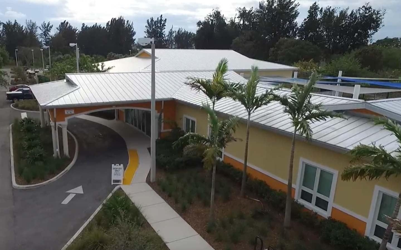 Arcola Lakes Senior Center Entrance