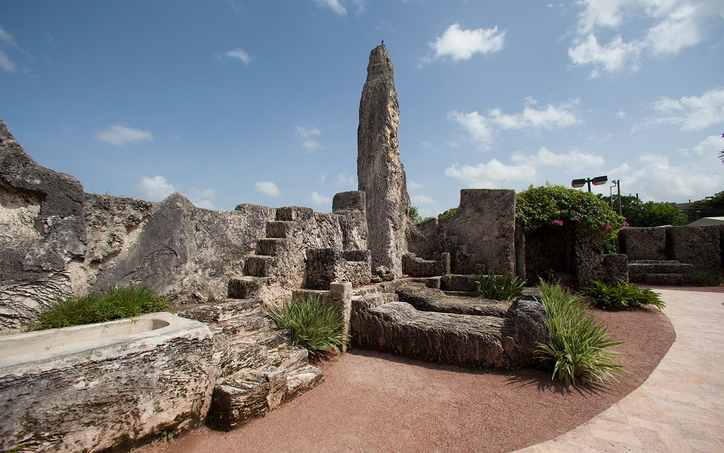 Coral Castle grounds