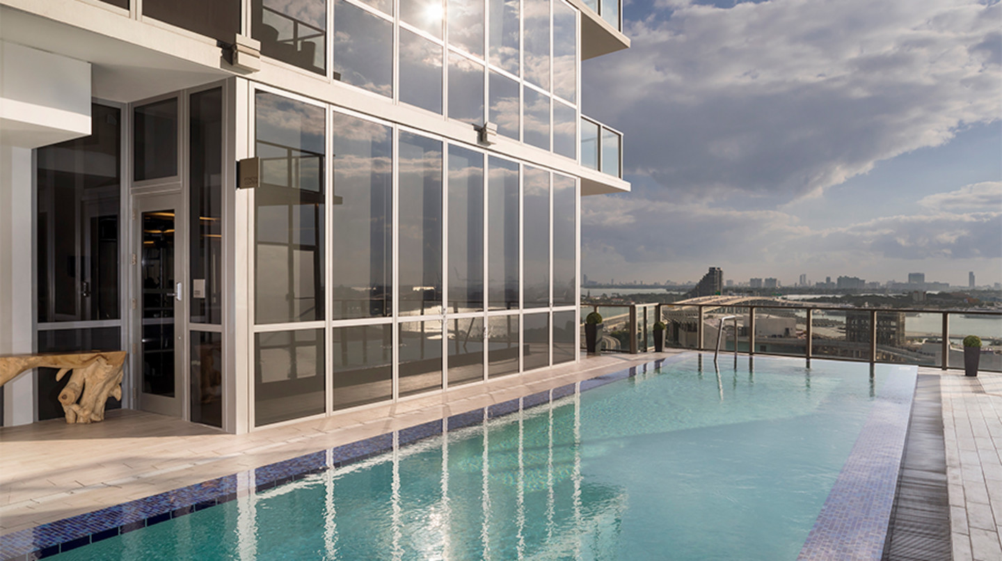 The Gabriel Miami, Curio collection by Hilton lap pool