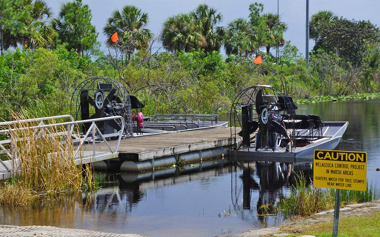 Everglades Swamp Tour airboats