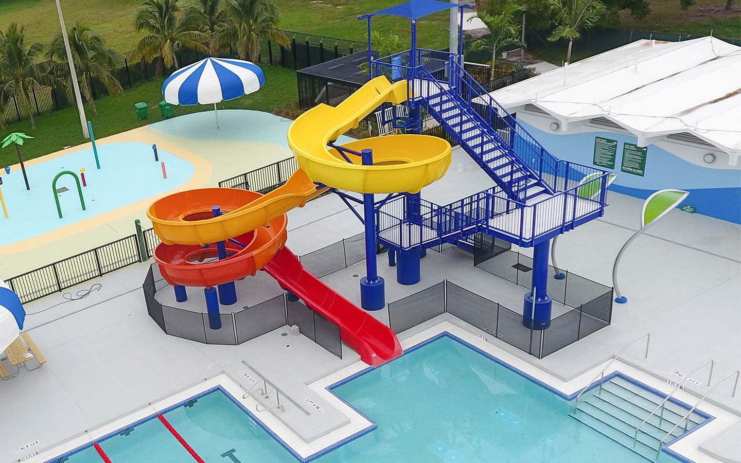 South Dade Park Kids Water Playground