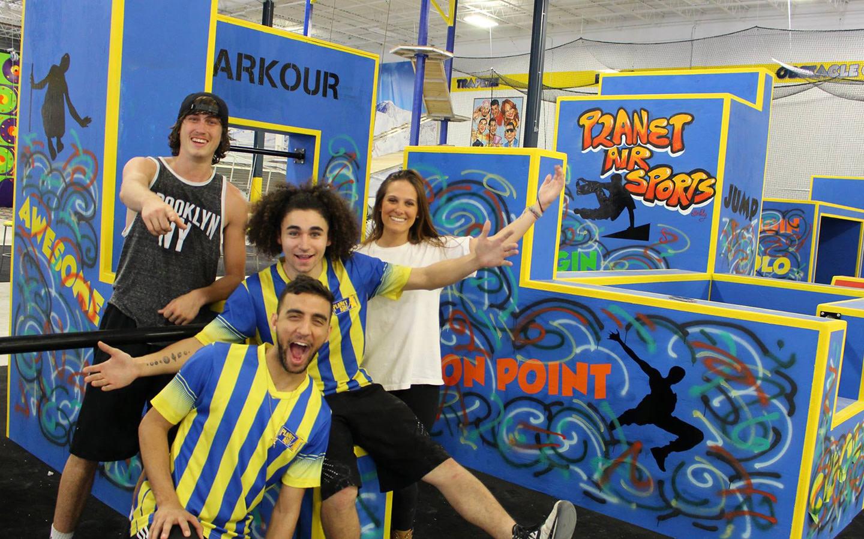 Planet Air Sports Parkour attraction