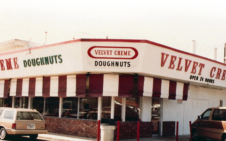 Velvet Creme Doughnuts & Coffee original location