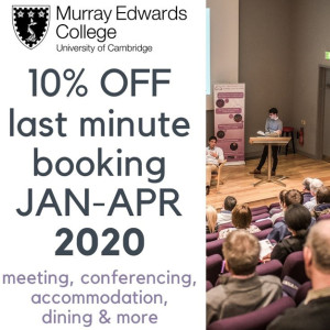 Start 2020 with Murray Edwards College
