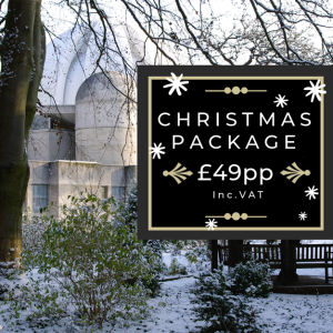 Christmas Packages at just £49.99 pp