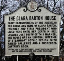 Clara Barton House logo