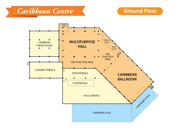 Venues in Caribbean Centre