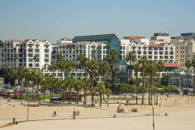 Loews Santa Monica Beach Hotel Visit