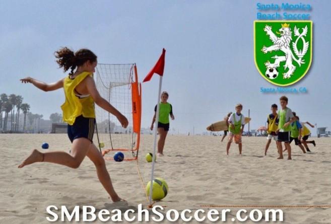 Santa Monica Beach Soccer