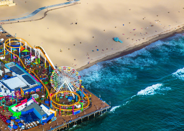 Image result for santa monica pier